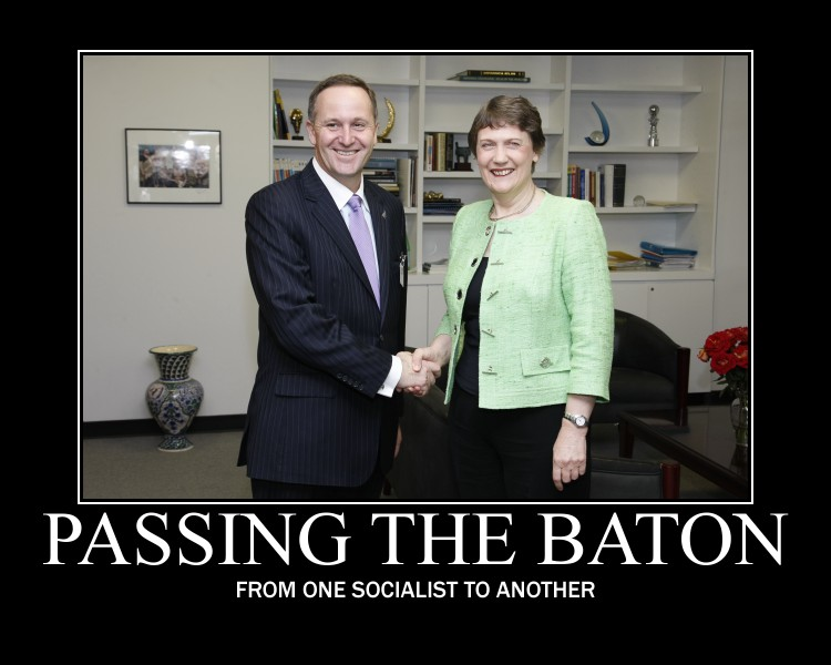 Passing the baton from one socialist to another