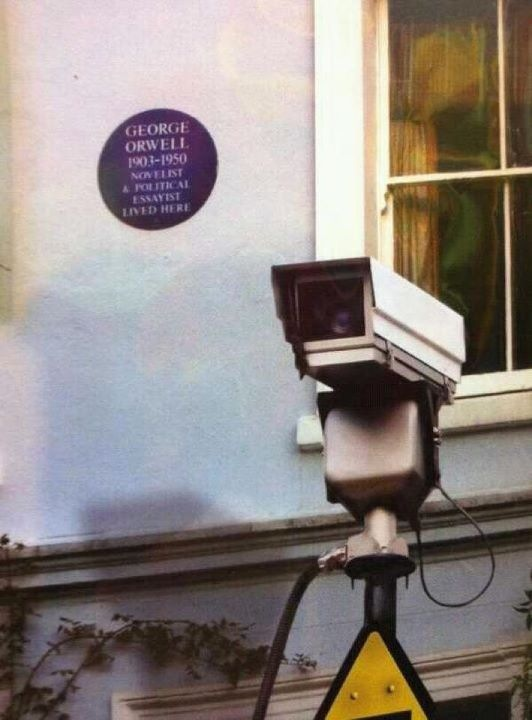 George Orwell was here