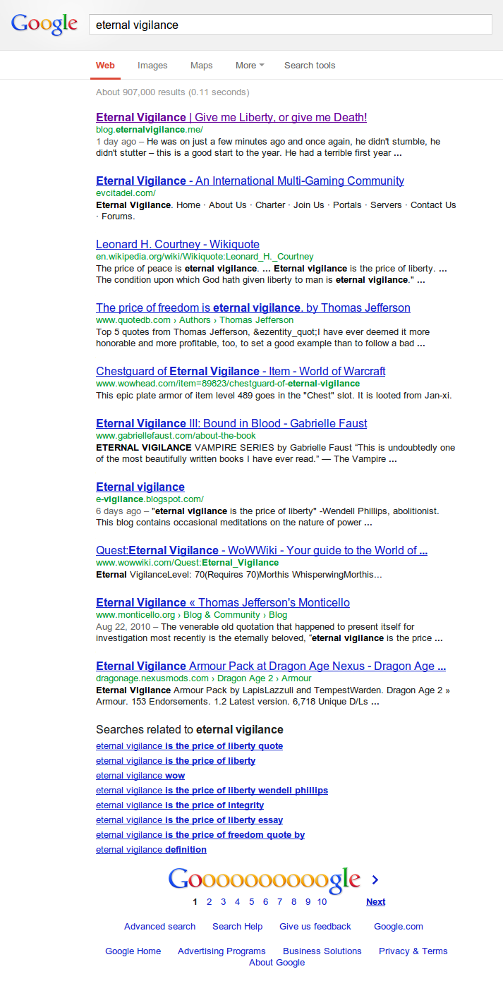 eternal_vigilance_google_co_nz