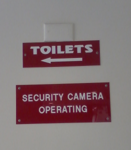 court toilets