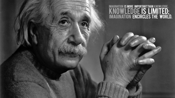 Imagination+Is+More+Important+Than+Knowledge+-+Knowledge+Is+Limited;+Imagination+Encircles+The+World