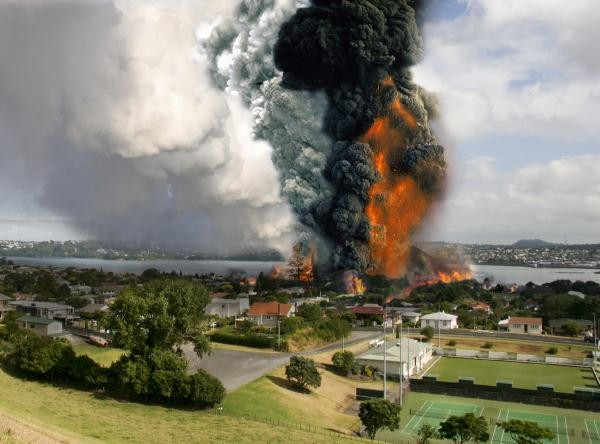 Another P lab explodes in Auckland. They should just legalise it.