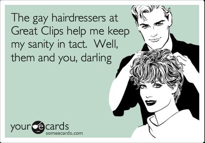 gay hair