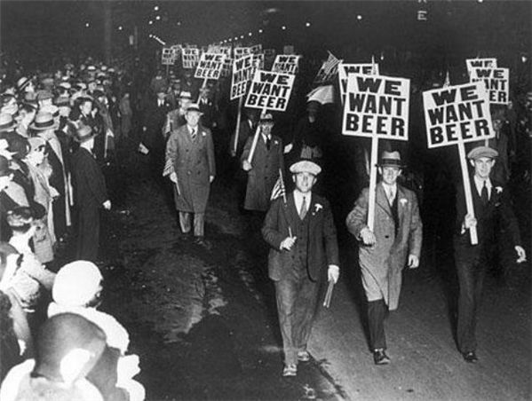 we want beer parade