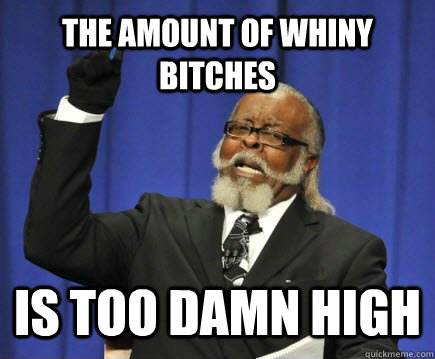 whiney
