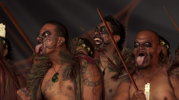 Ngaa haka group