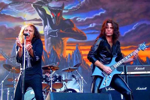 Horns Up Rocks Iron Maiden Dio Holy Diver
