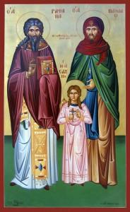 Άγιος Ραφαήλ, Άγιος Νικόλαος κ Άγία Ειρήνη