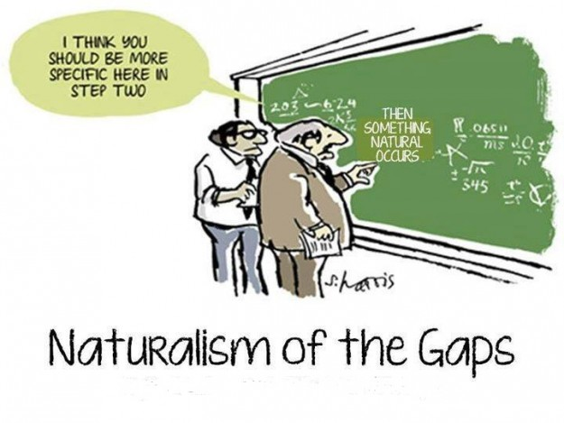 naturalism of the gaps
