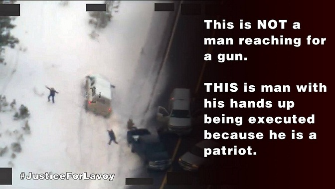 lavoy being shot