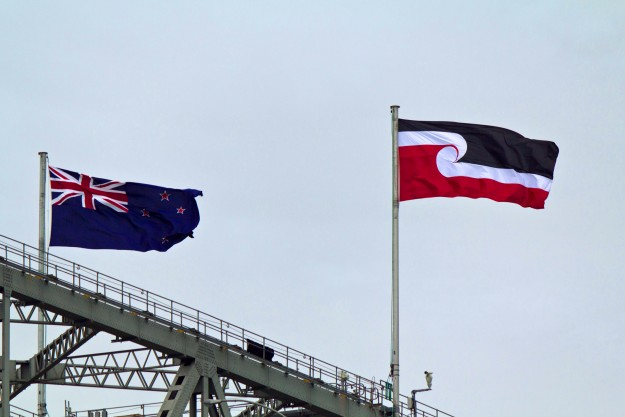 Tino_rangatiratanga_flag_on_Harbour_Bridge