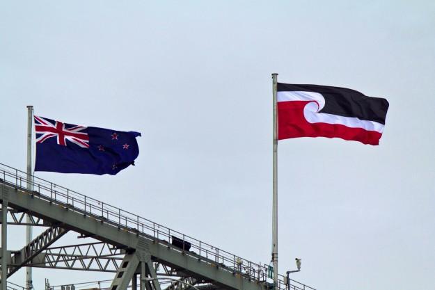 Tino_rangatiratanga_flag_on_Harbour_Bridge