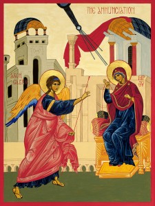 annunciation-icon